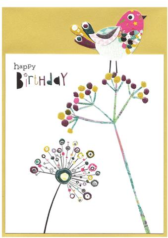 happy birthday, seed heads