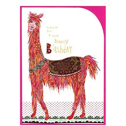 happy birthday, llama