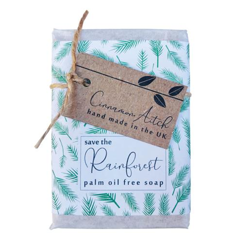 SAVE THE RAINFOREST lemongrass & hemp soap bar
