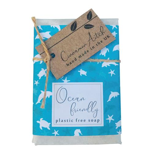 OCEAN FRIENDLY peppermint & poppy seed soap bar