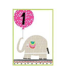 elephant with balloon, 1