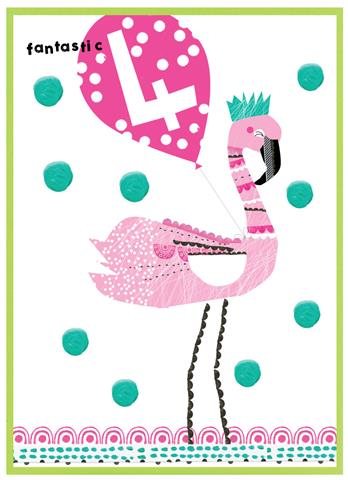 flamingo & balloon, 4