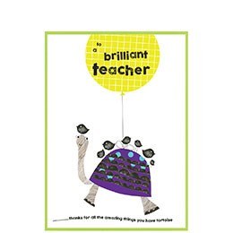 to a brilliant teacher