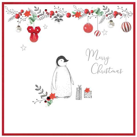 merry christmas, penguin
