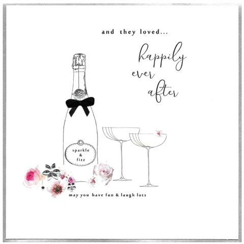happily ever after, extra large card