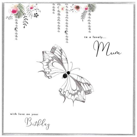 to a lovely mum, extra large card