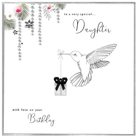 to a very special daughter, extra large card
