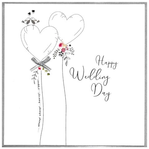 happy wedding day, extra large card