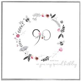 special birthday, 90, extra large card